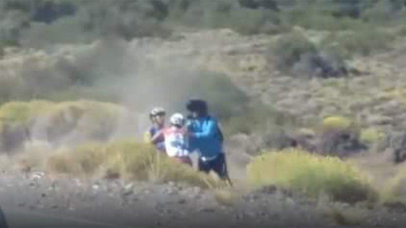 Así fue la feroz y triste pelea entre dos ciclistas neuquinos