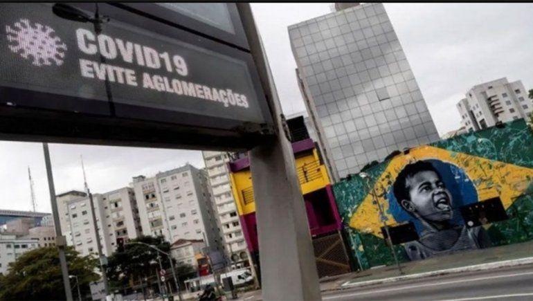 Brasil confirmó 58 muertes por el coronavirus