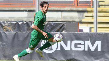 Alfageme, actualmente juega en Avellino, en la Serie C de Italia.