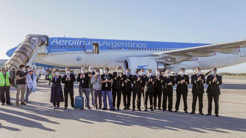 De Neuquén a China: Juan, el piloto del vuelo histórico