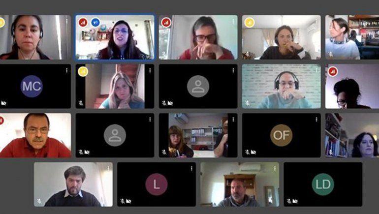 Encuentro virtual entre municipios de la Confluencia
