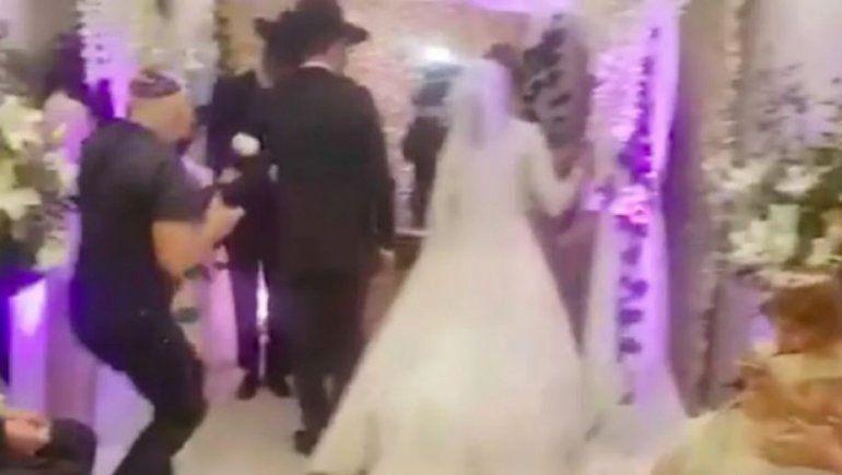 Dos casamientos judíos pusieron en jaque la cuarentena en CABA