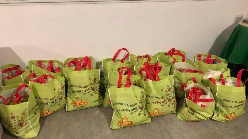 Pillmatun ahora va por otras 50 bolsas de comida