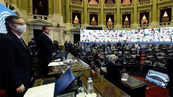 En Vivo: la Cámara de Diputados realiza una sesión especial