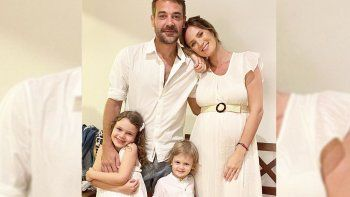 Nació Filipa, la tercera hija de Paula Chaves y Pedro Alfonso