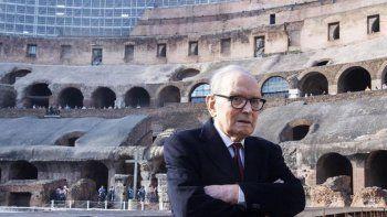 A los 91 años, murió Ennio Morricone