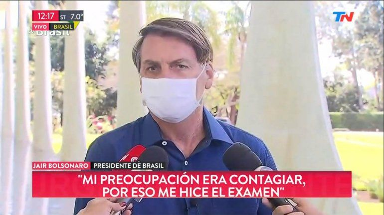 Confirman que el presidente de Brasil tiene coronavirus