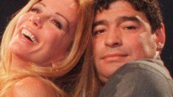 ¿Graciela Alfano y Diego Maradona juntos? ¡Arde el espectáculo!