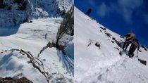 linea sur: rescataron a 25 chivas atrapadas en la nieve