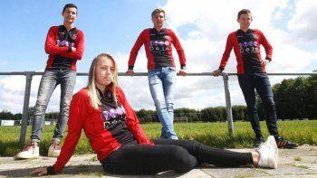 Las mujeres en Holanda pueden integrarse a equipos de varones pero hasta los 18 años. Ahora también en Primera.