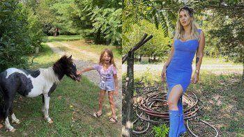 Wanda les regaló ponis a sus hijas y le llovieron críticas
