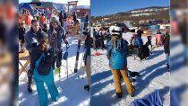 acusaran a siete esquiadores por violar el protocolo sanitario