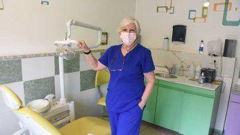 cristina, la odontologa que trabaja por la inclusion