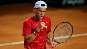 Masters 1000 de Roma: Schwartzman enfrenta a Djokovic en la final