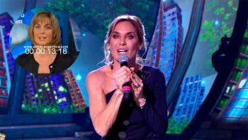Paula Trápani debutó en el Cantando y recordó su salida del noticiero de Telefe