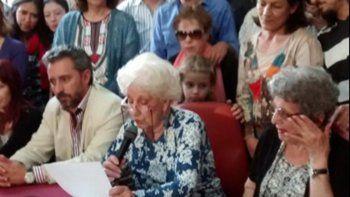 Abuelas de Plaza de Mayo recuperaron al nieto 118