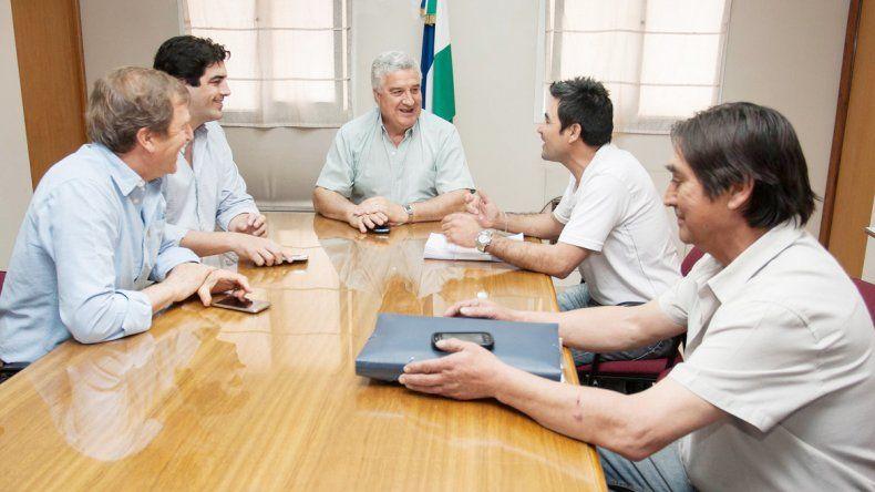 Baratti y Tortoriello se reunieron con los dirigentes de Sitramuci.