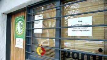 cortan el servicio a afiliados al pami en clinicas de la ciudad