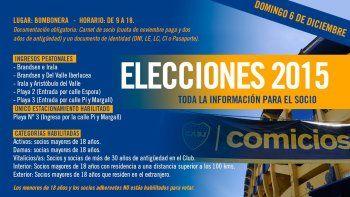 Boca elige hoy a su nuevo presidente