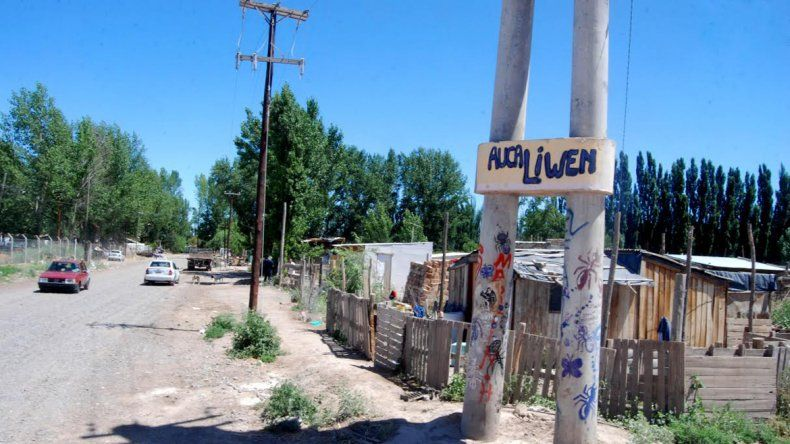 El asentamiento Awka Liwen está ubicado en Lisandro de la Torre