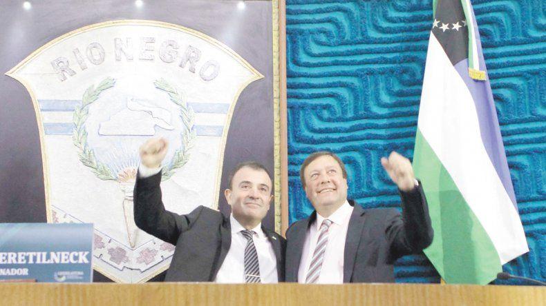 Weretilneck y Pesatti, juntos para frenar los rumores