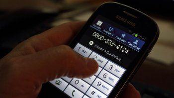 Las denuncias se pueden efectuar llamando al 0800-333-4124.