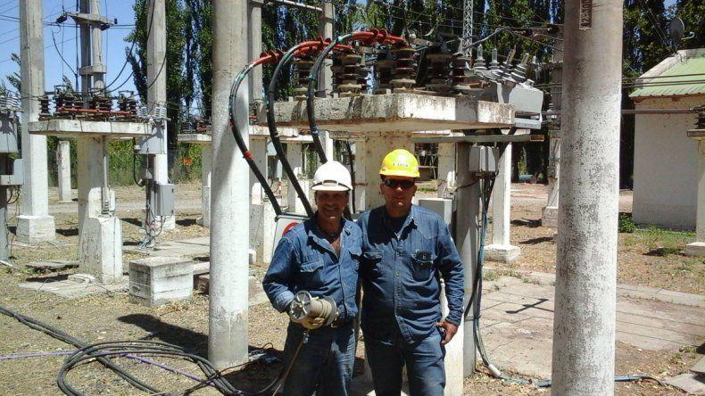 Conectaron nueva central térmica portátil que abastecerá de energía a Allen y Cipolletti