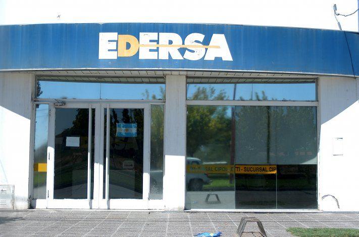El servicio de Edersa volvió a cortarse en diferentes sectores de la ciudad.