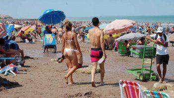 Muchos turistas llegaron después del 15. Ayer tuvieron un día a pleno sol.