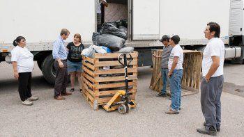 Parte otro camión lleno de solidaridad cipoleña
