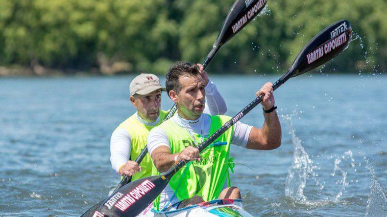 Carlos y Hernán Pacheco corren su segunda regata de la temporada.
