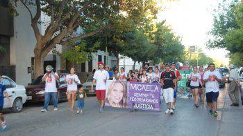 Familiares de Micaela esperan respuestas de la Justicia local