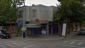 Un kiosco de Belgrano y Brown fue uno de los que sufrieron daños.