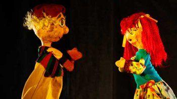 Los títeres de Atacados por el Arte vuelven a La Caja Mágica