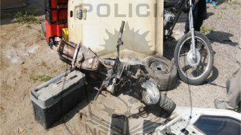 El procedimiento en el desarmadero de la Isla fue llevado a cabo por la Policía de Neuquén y la de Río Negro.