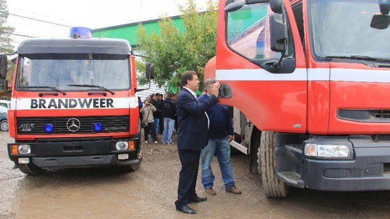 Provincia reafirma el acompañamiento a los Bomberos Voluntarios