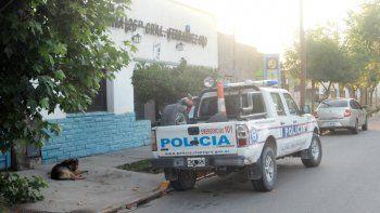 La comisaría de Fernández Oro quedó al frente de la investigación.