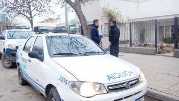 El violento robo ocurrió en una casa ubicada al lado del supermercado Vea.