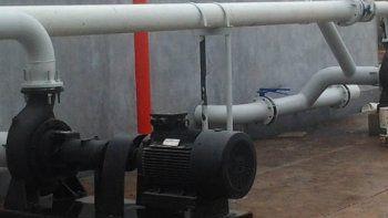 ARSA prometió que habrá bombeo de agua desde el Distrito Vecinal.