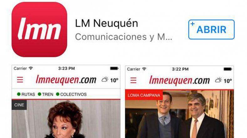 LMC lanza su app: toda la información al instante