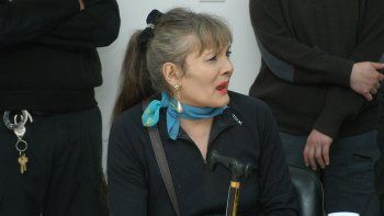 La travesti Laila Díaz permanece alojada en la cárcel de mujeres de General Roca desde el año pasado.