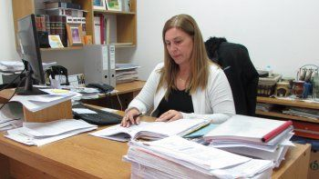 La fiscal Rita Lucía se encargó de realizar el pedido de elevación a juicio.