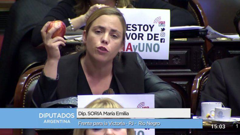 Soria: Al Gobierno Nacional no le preocupa la fruticultura
