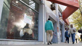 El feriado largo de Carnaval arranca con un paro bancario