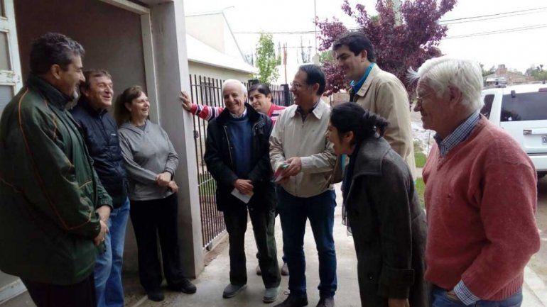 El PRO cipoleño se unió al timbreo nacional y salió a los barrios