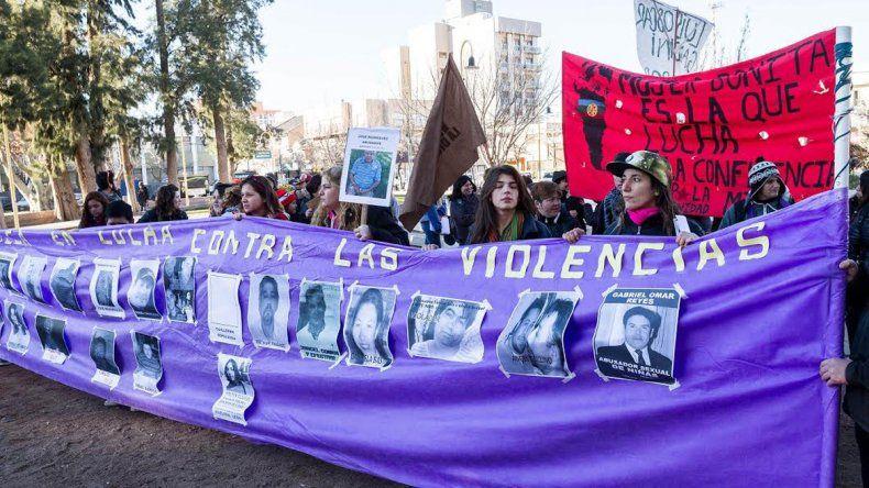 Marcharon contra la violencia machista en la ciudad
