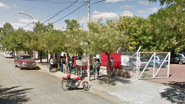 Trabajadores del Ministerio de Desarrollo Social protestan por sueldos atrasados