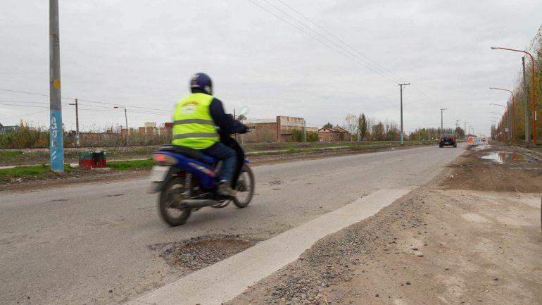 La Ruta 65 es muy usada por los motociclistas. Allí ocurrió el choque.