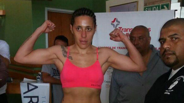 Betiana Viñas en la balanza registró 57