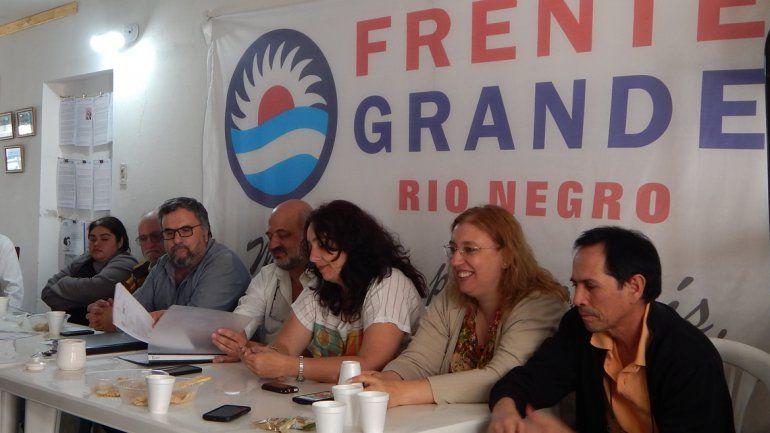 El Frente Grande va por candidatos de consenso en el FpV